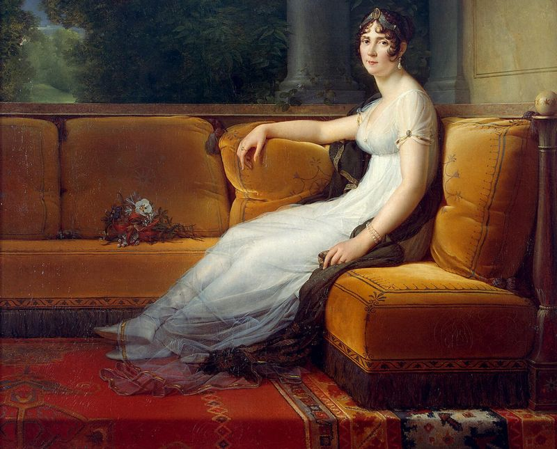 Madame Bonaparte in haar salon, rond 1801 door François Gérard.
