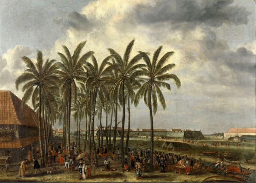Andries Beeckman, Gezicht op Batavia © Rijksmuseum Amsterdam