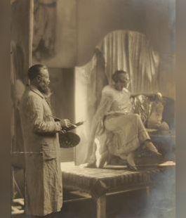 Jasmy poserend voor Van Dongen, 1925