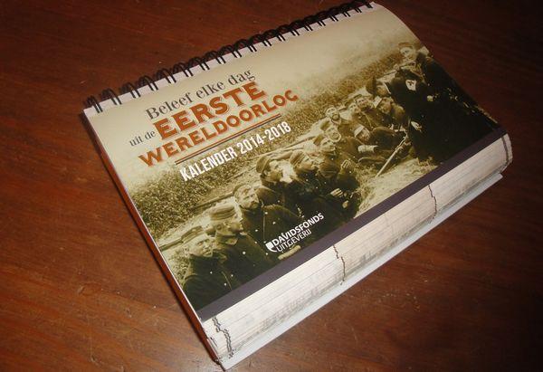 Vijf jaar Eerste Wereldoorlog van dag tot dag