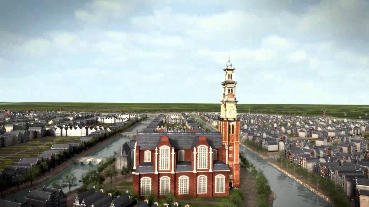 Zo groeide Amsterdam in de Gouden Eeuw (animatie)
