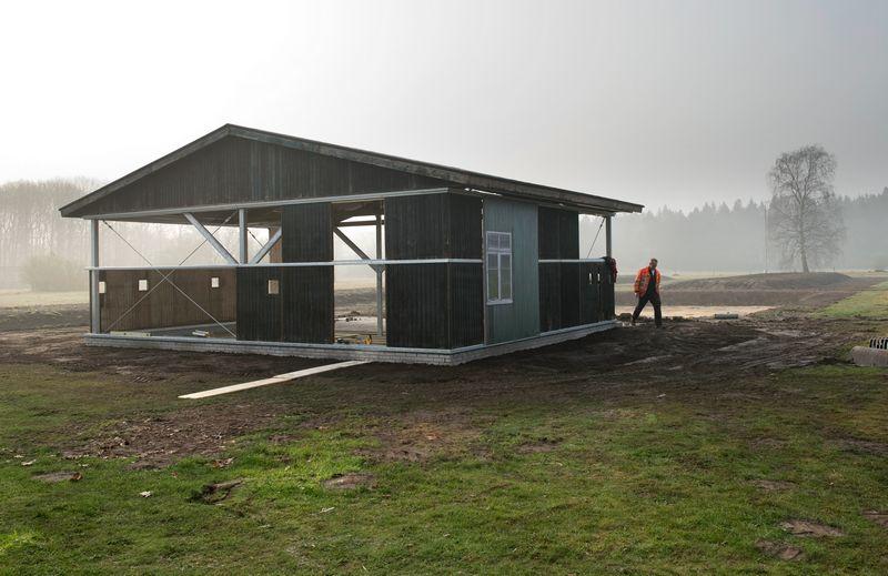 Herinneringscentrum Kamp Westerbork plaatste eerder dit jaar een barak terug