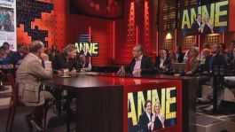 Peter Vandermeersch te gast bij DWDD om te praten over het theaterstuk ANNE (still)