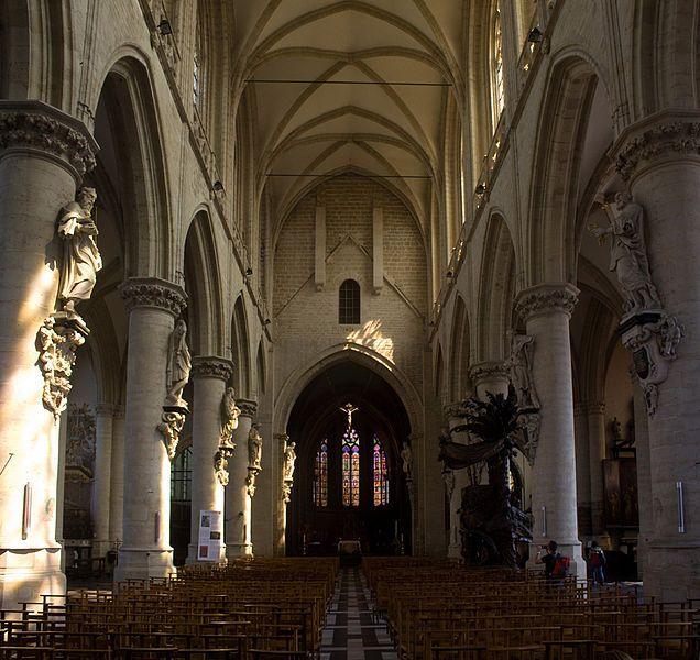 Kapellekerk in Brussel - cc Johan Bakker