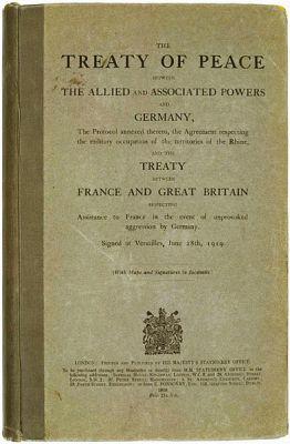 Engelse versie van het Verdrag van Versailles