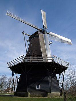 Molen van Burum (windlust) - cc