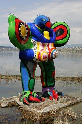 Nana-beeld van Niki de Saint Phalle