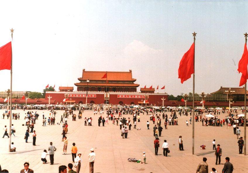Plein van de Hemelse Vrede in Peking - cc