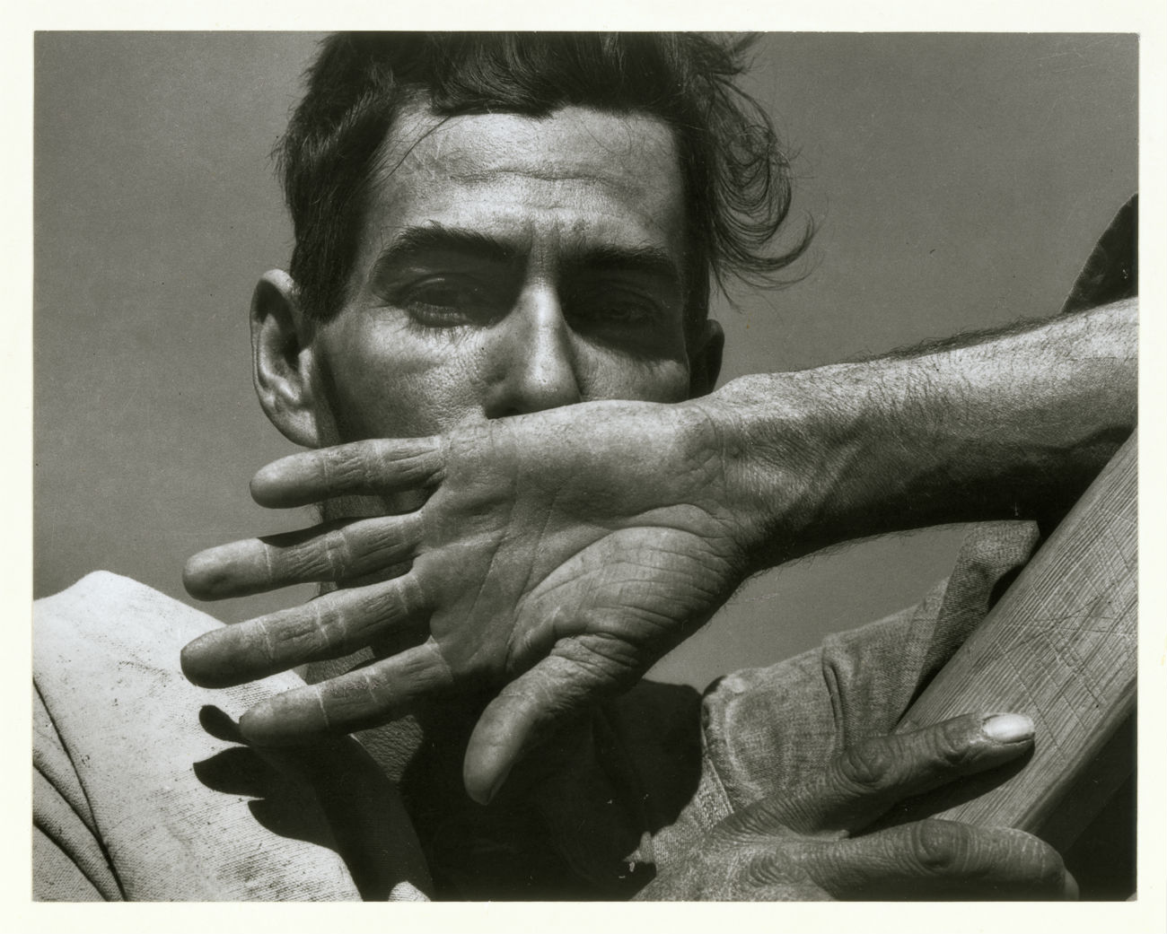 Dorothea Lange, Migratory Cotton Picker, Eloy, Arizona, 1940 © Library of Congress. Courtesy of Howard Greenberg Collection