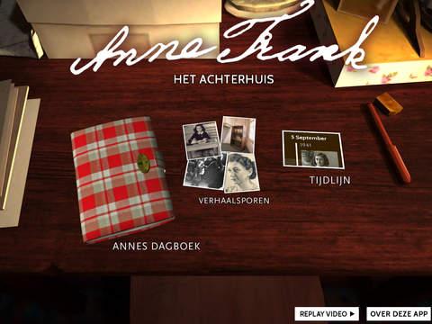 Anne Frank app