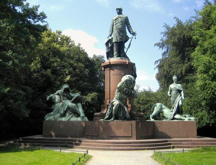 Bismarck-standbeeld in Berlijn - cc