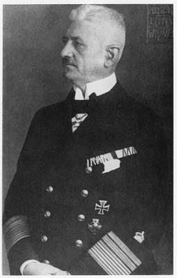 Herman Ludwig von Reuter, de man die opdracht gaf om de Hochseeflotte te laten zinken - cc