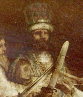 Julius Civilis volgens Rembrandt (detail)