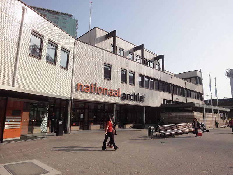 Nationaal Archief in Den Haag (cc - Vera de Kok)