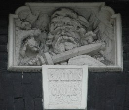 """Claudius Civilis"", leider van de opstand der ""Batavieren"" (Amsterdam)"