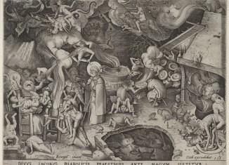 Jakobus de Meerdere ontmoet de magier Hermogenes, Pieter Bruegel, 1565, Rijksmuseum Amsterdam