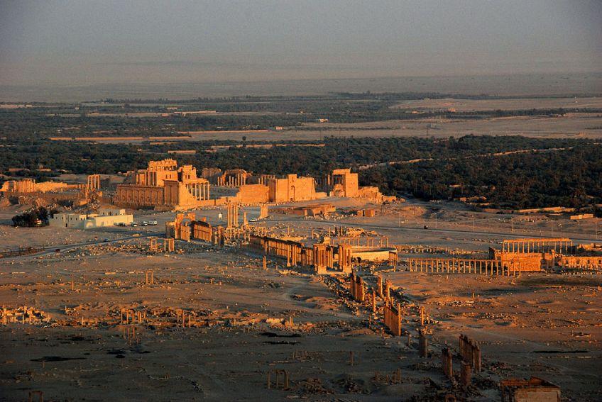 Ruines van Palmyra (cc - James Gordon)