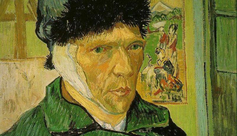 Vincent van Gogh - Zelfportret met verbonden oor, januari 1889