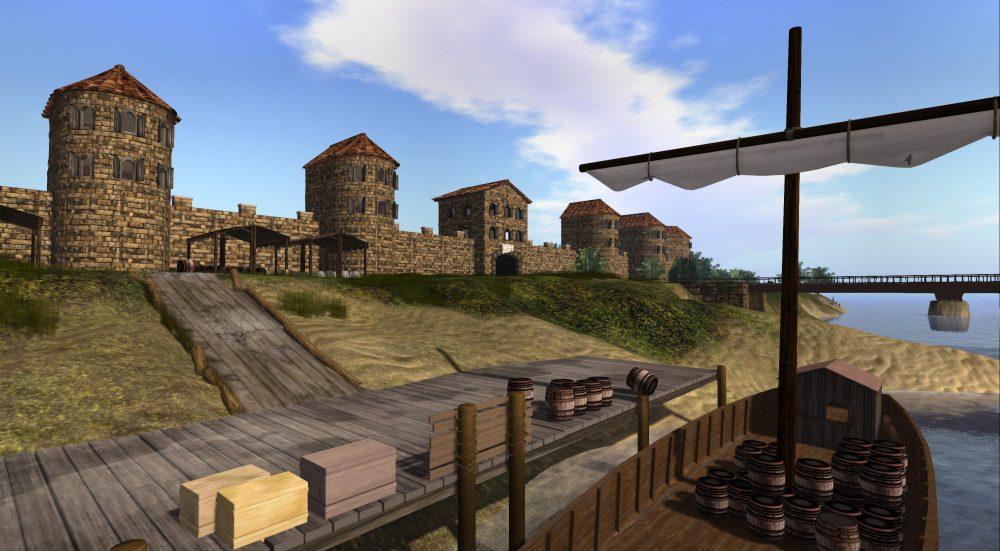 Een Romeinse loskade langs de Maas in Cuijk
