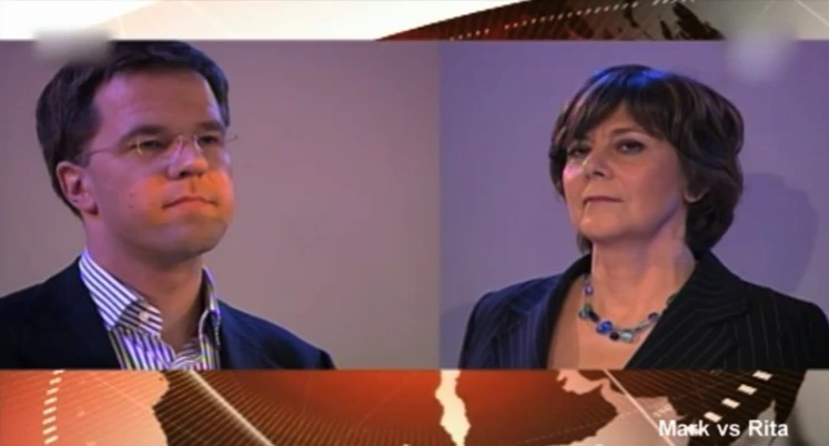 Strijd tussen Mark en Rita was bijna het einde voor de VVD