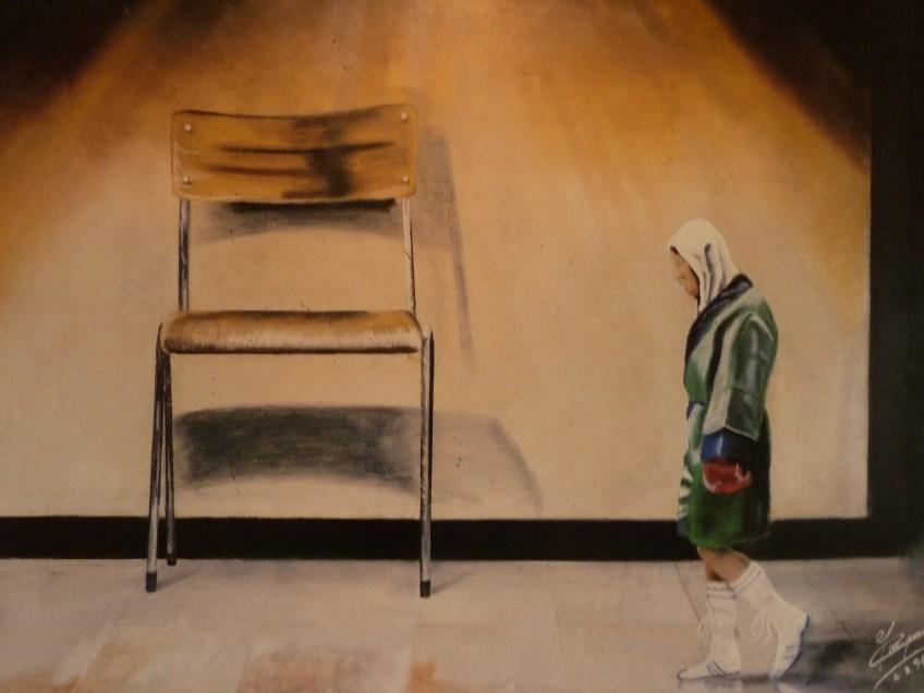 Schilderij in de woning van Jean-Pierre Coopman (Paul Prillevitz)