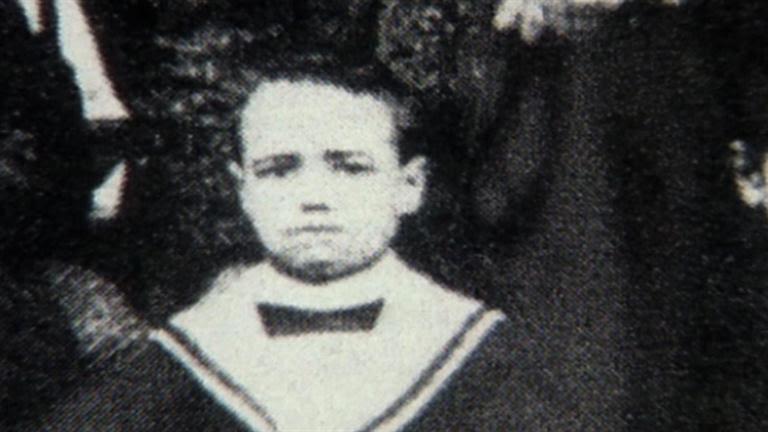 Benito Mussolini als kind