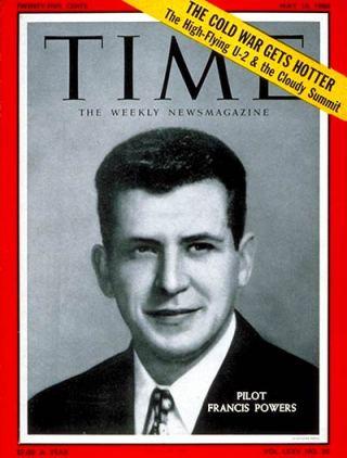 Gary Powers op de cover van Time Magazine