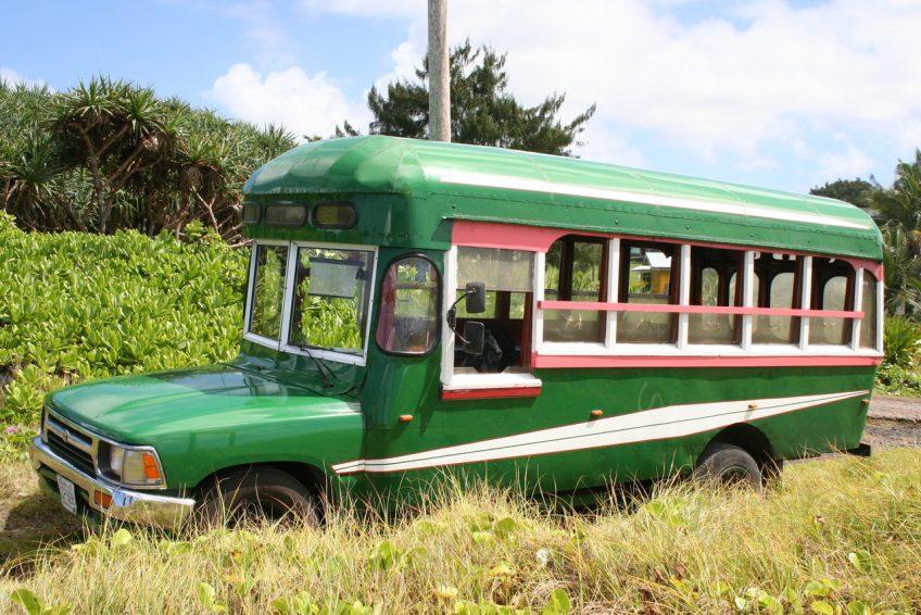 Oude schoolbus (sxc.hu)