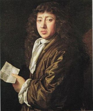 Dagboekschrijver Samuel Pepys, door John Hayls geschilderd in de lente van 1666.