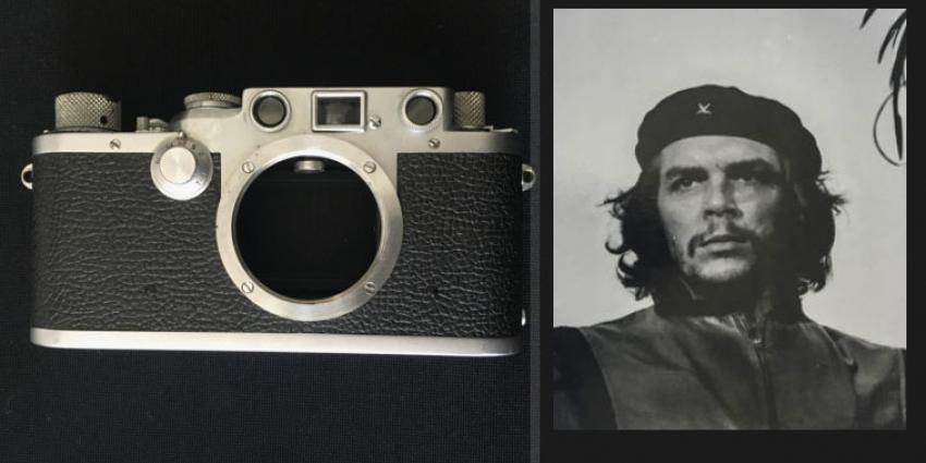 Fototoestel van beroemde Che Guevara-foto te koop