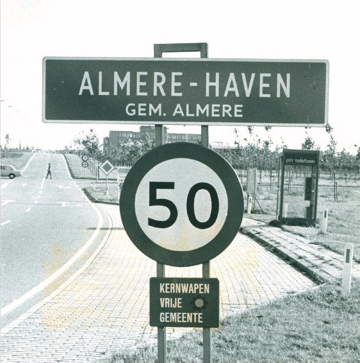 Grenzen van Almere