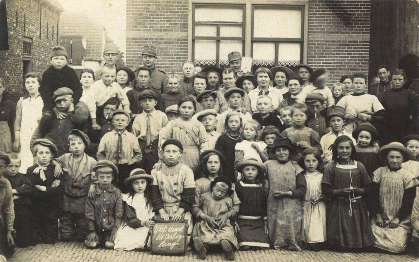 Historisch Archief Westland - Belgische vluchtelingen zijn de oorlog zat