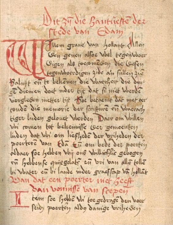 Middeleeuws wc-papier