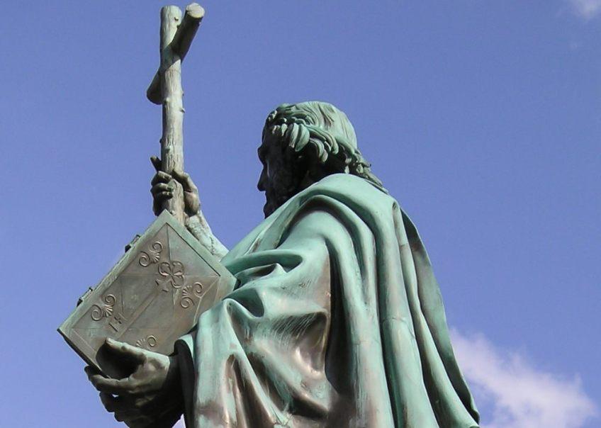 Standbeeld van Bonifatius in Fulda - cc