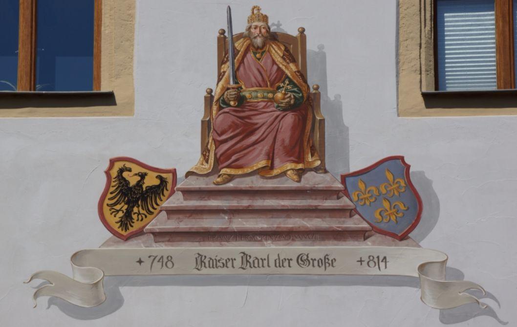 De jonge Karel de Grote