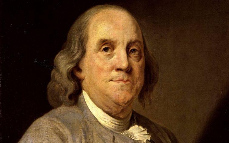 Benjamin Franklin (1706-1790) - Amerikaans multitalent