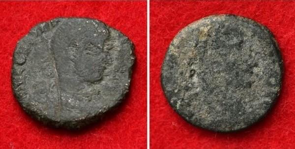 Romeinse munten, gevonden in Japan (Uruma City Education Board)