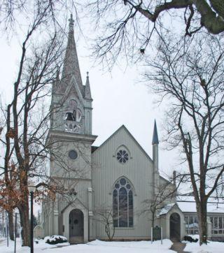 Reformatisch kerk in Holland, Michigan. Bron: cc