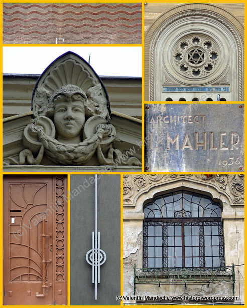 Saturday 9 February: architectural history tour in Matei Basarab area of Bucharest (2/3)