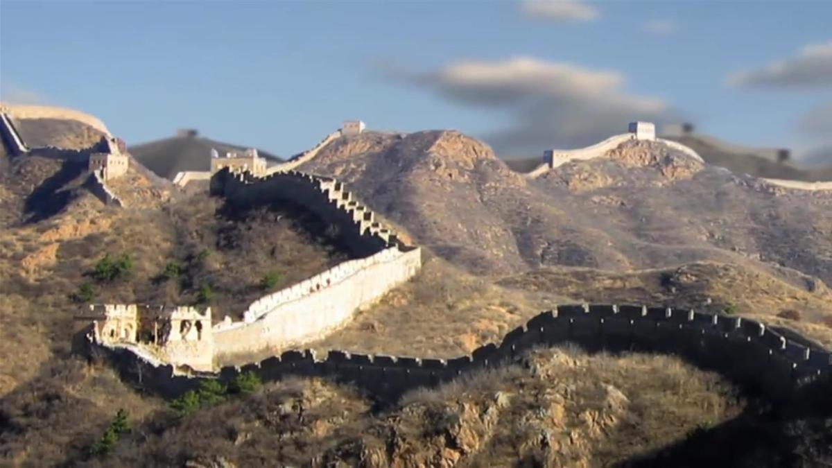 Led Wall China Great Wall Of China