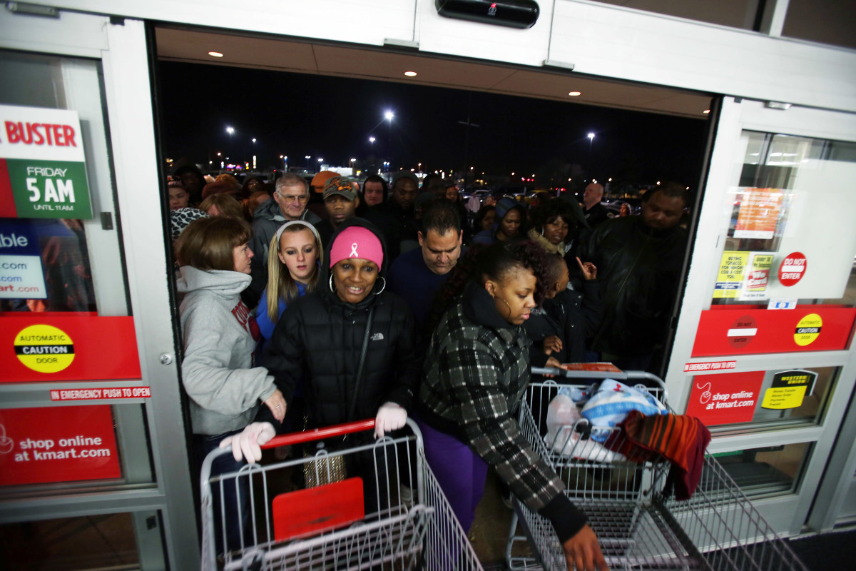 Black Friday Shopping Black Friday History From Financial Crash To Shopping Mania History