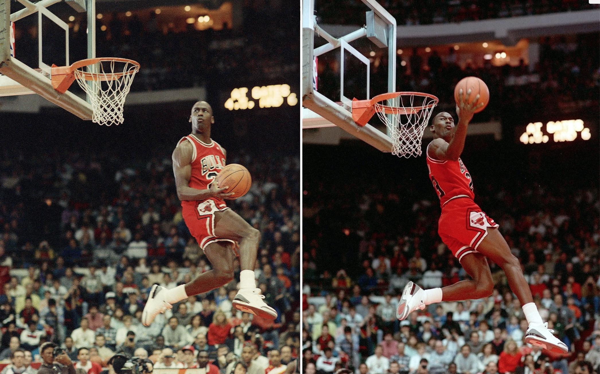 Hd Air Jordan Wallpaper Michael Jordan S Brief But Memorable Slam Dunk Contest
