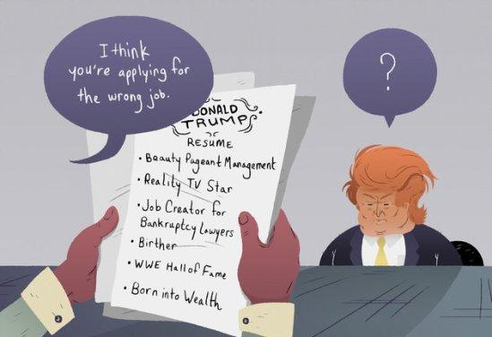 resume inconsistent job history