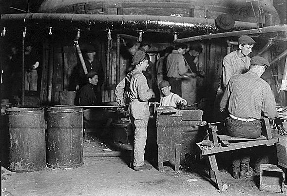 Boy And Girl In Room Child Labor Photographs Of Lewis Hine