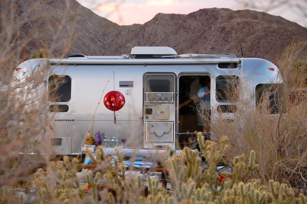 DSC_0016 Camping in the desert & Airstream go together