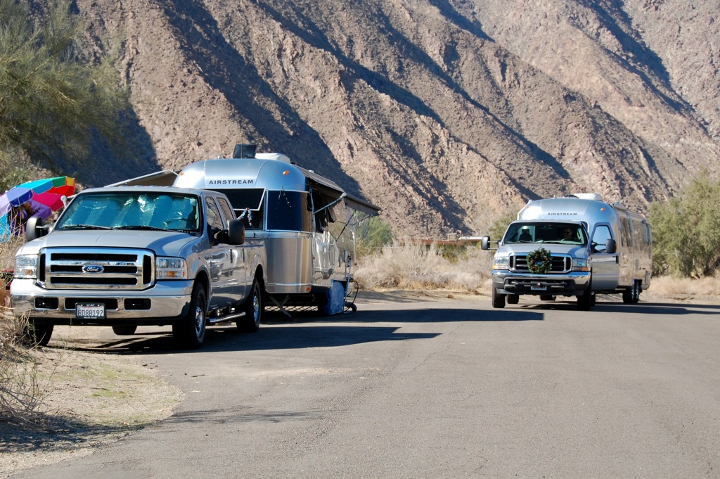 DSC_0084 Airstreams pulled by F-250s