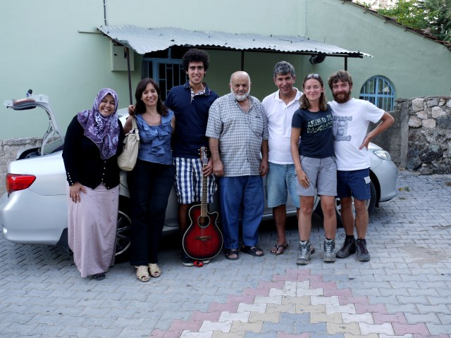 Kind people we met while hitchhiking - On the road, Turkey