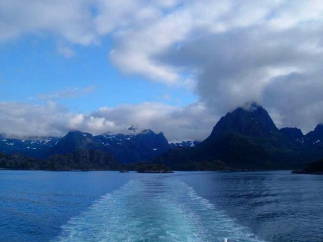 on the way to Lofoten Islands, Norway