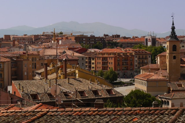 View from the mirador on Juan Bravo street - Segovia, Spain (6)