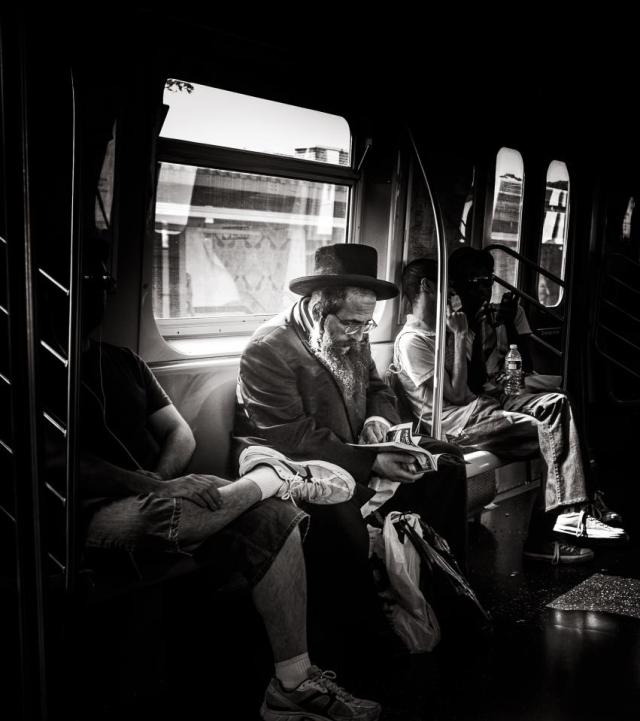 The Rabbi, New York City - by jake Metzger